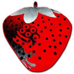 Teppich für Kinder HAPPY C298 Erdbeer rot