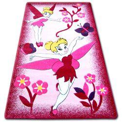 Happy gyermek szőnyeg C224 rózsaszín Wrózsaszínka