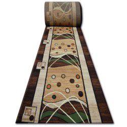 Heat-set futó szőnyeg PRIMO 4626 barna