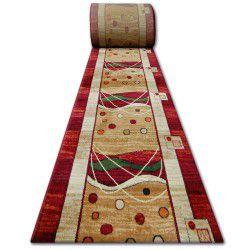 Heat-set futó szőnyeg PRIMO 4626 piros