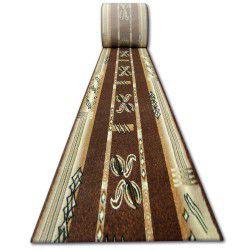 Heat-set futó szőnyeg PRIMO 5123 barna