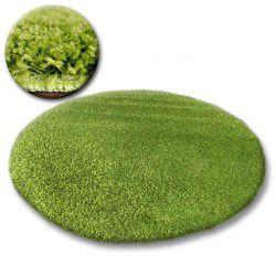 Teppich kreis SHAGGY GALAXY 9000 grün