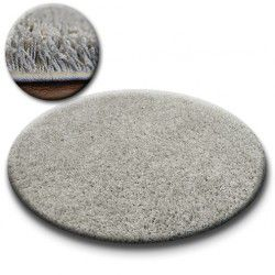 Carpet circle SHAGGY GALAXY 9000 grey