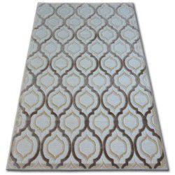 Akril yazz szőnyeg 9717 D.Bézs/L.Bézs
