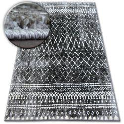 Килим SHADOW 9890 визон/черно